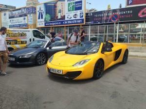 topgeargib2 300x225 Trio bylo spatřeno v Gibraltaru
