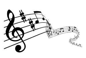 music notes 300x201 Hudba